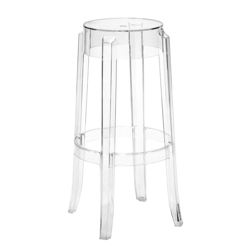 Phantom Resin Barstool Clear 69 95 71 65 Product Image 1